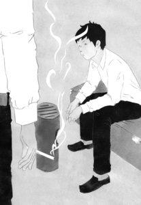 小説すばる10月号(集英社)「大人のくせにバカとか言うな」 牧村一人 著